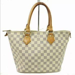 Authentic Louis Vuitton Saleya PM Azur Tote Bag